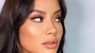 Макияж без макияжа для карих глаз Трендовый макияж 2021 Нюдовый макияж no makeup makeup