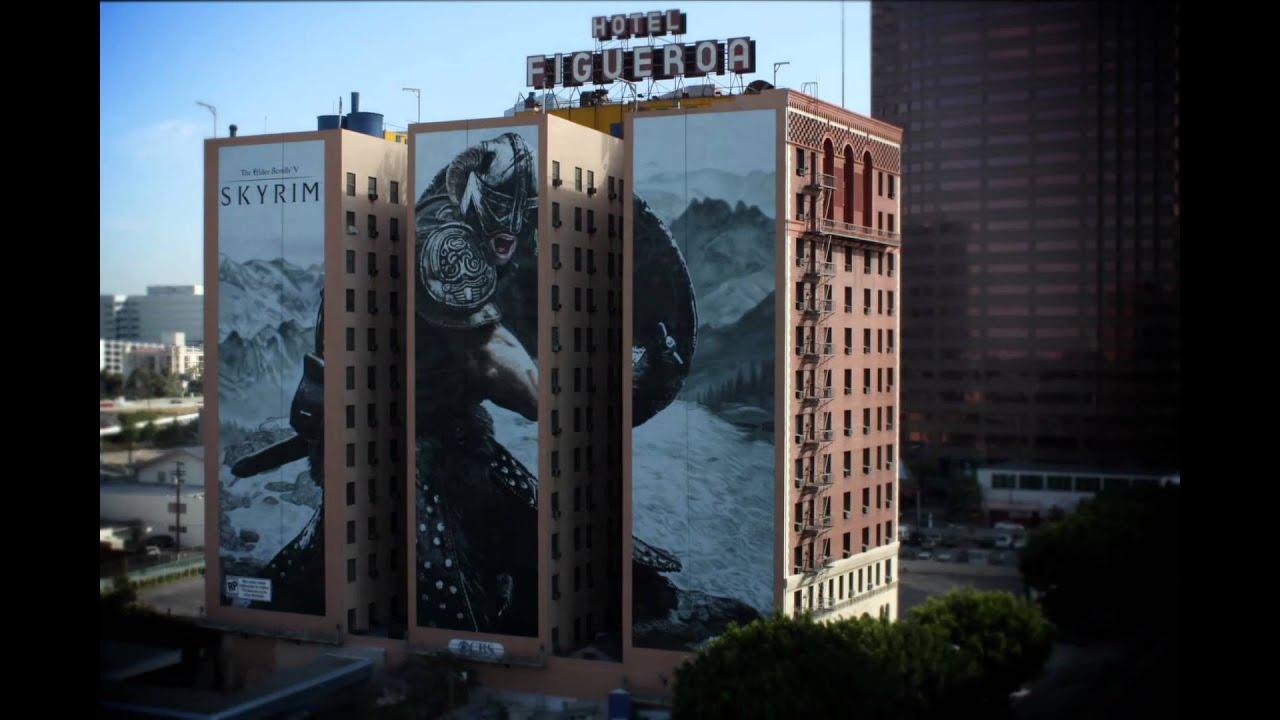 Skyrim - Figueroa Hotel Painting