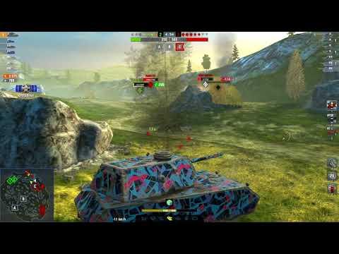 Mäuschen 6054DMG 5Kills | World Of Tanks Blitz | Nekit65321