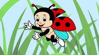 Download lagu Simple drawing of Adorable Lady Bug | Toddler of ages 2, 3, and 4 learn coloring Funny Lady Bug