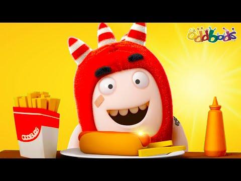 Oddbods | NEW | STREET FOOD | Funny Cartoons For Kids