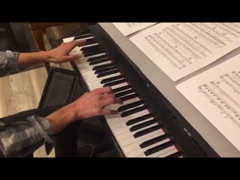 Love cats Piano verse section hands together