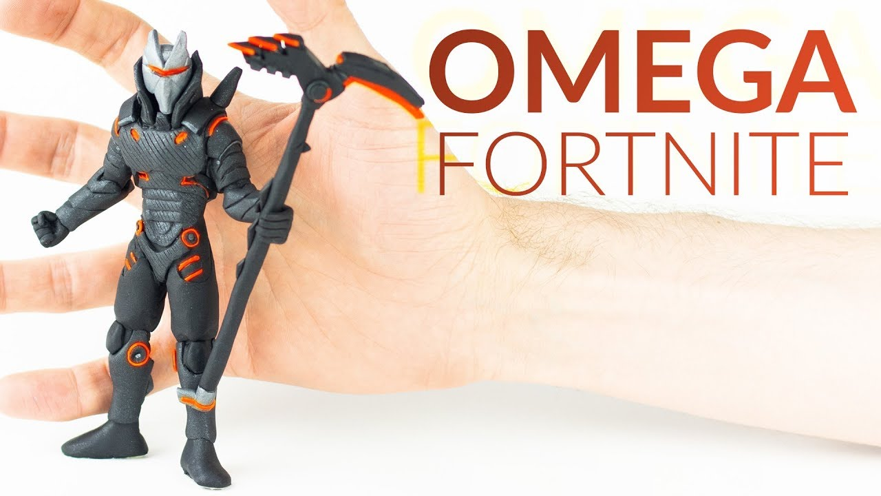 Omega Max Level Fortnite Battle Royale Polymer Clay