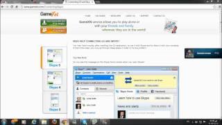 شرح برنامج game xn go skype
