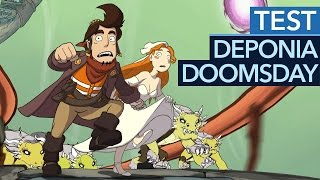 Deponia Doomsday - Die Trilogie geht in die Verlängerung (Test / Review)