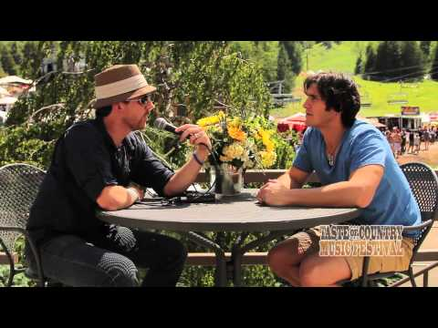 Joe Nichols at the Taste of Country Music Festival - Interview