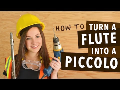 How To Turn A Flute Into A Piccolo