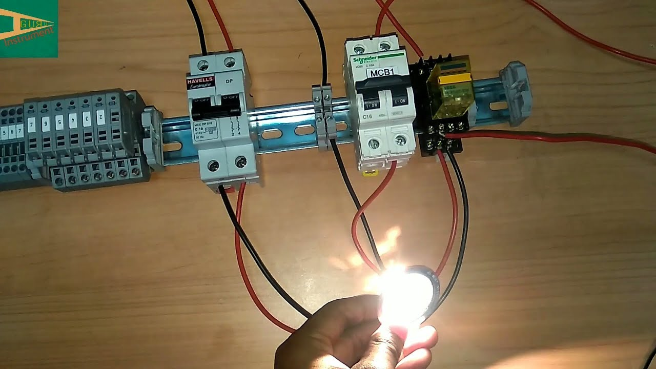 automatic emergency light wiring connection rh youtube com