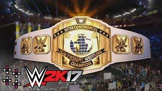 Survivor Series 2016: Sami Zayn vs. The Miz — Intercontinental Title Match — WWE 2K17 Match Sims