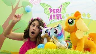 Peri Ayşe balona dönüşen Pinkie Pie'yi kurtarıyor