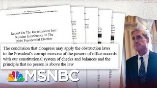 House Dems Subpoena Full Mueller Report In New Clash With Barr | The Beat With Ari Melber | MSNBC