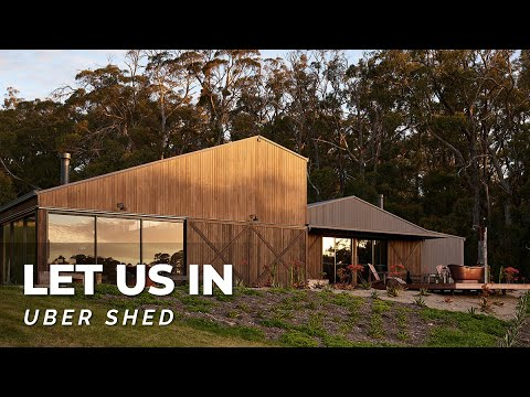 Uber Shed 2 | Luxury Shed & Home Tour W Airstream Bus & Outdoor Bath! 🚌🛁🌳 Collector Heaven! LUI E28