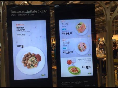 IKEA Restaurant & Cafe at Cheras, Kuala Lumpur | Swedish (beef) meatballs