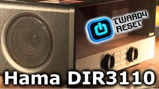 Hama DIR3110 - Cyfrowe radio internetowe/FM - TEST - Twardy Reset