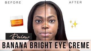 GET RID OF DARK CIRCLES: Ole Henriksen Banana Bright Eye Crème Review || KEAMONE F.