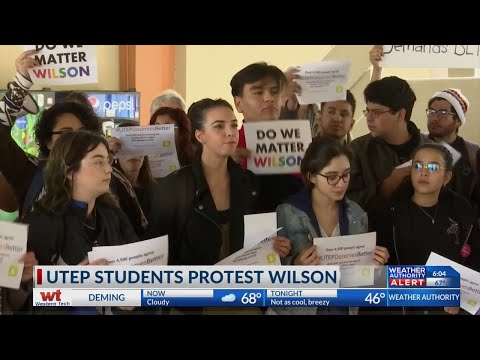 UTEP Students Protest
