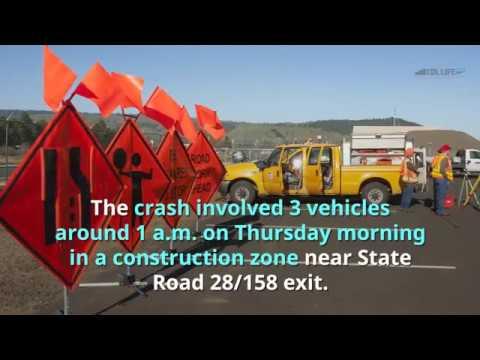 Ohio truck driver killed in construction zone crash