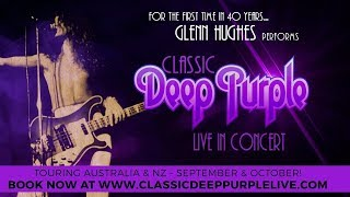 Glenn Hughes To Perform Classic Deep Purple Live In Australia & New Zealand 2017