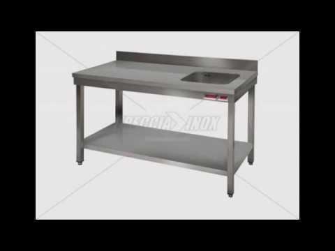 Tavoli inox per ristoranti pizzerie mense trattorie - Tavoli inox per ristorazione ...