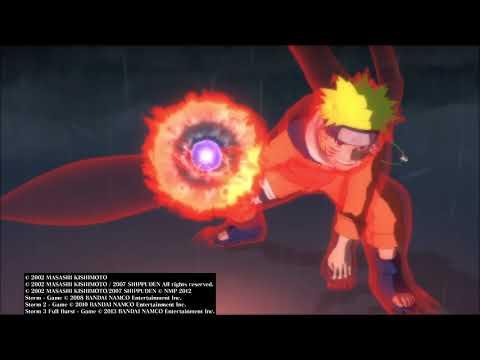 NARUTO SHIPPUDEN: Ultimate Ninja STORM 1 - Curse Mark Sasuke Story Mode Boss Battle |