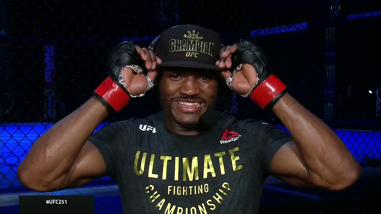UFC 251: Kamaru Usman Post-fight Interview