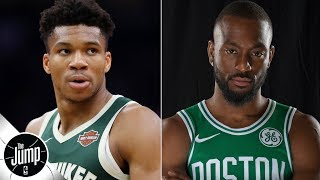 Predicting the top four teams in the Eastern Conference: Giannis, Bucks to lead the way? | The Jump