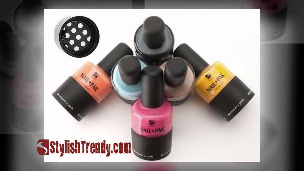 Duality Nail Pak All in One Nail Polish System - YouTube