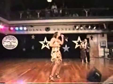 """Kimberly Edwards performing """"Rescue Me"""" 2005"""