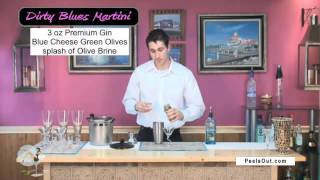 Dirty Blues Martini - Peelsout.com