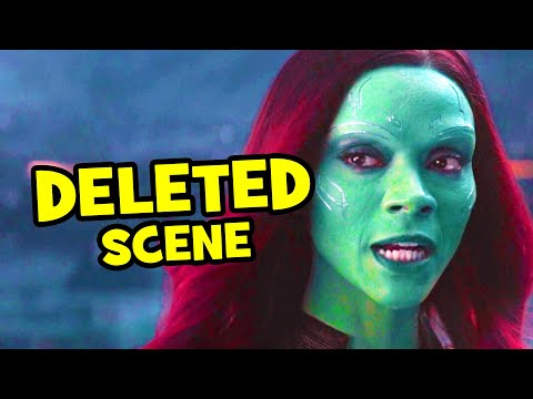 Avengers Infinity War DELETED SCENE Thanos & Gamora + Breakdown