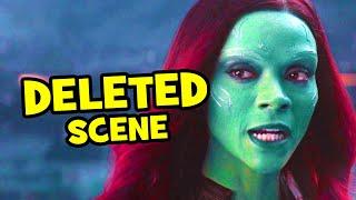 Avengers Infinity War Deleted Scene Thanos & Gamora + Breakdown