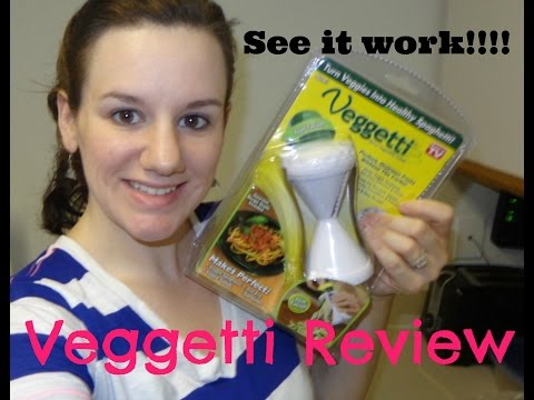 Veggetti- As Seen on TV review and first impression