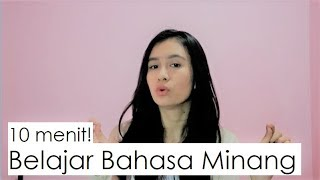 Belajar Bahasa Minang 4