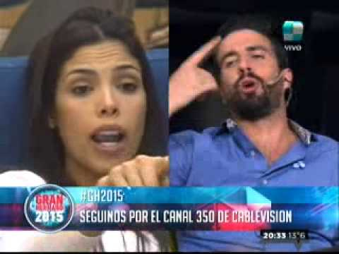 """""""Gran Hermano 2015"""": María Paz contó su versión con respecto a la pelea entre ella y Francisco"""
