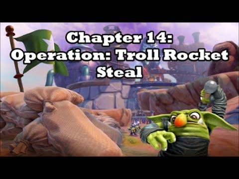 Skylanders: Trap Team - Blind Playthrough (Part 14 - Operation: Troll Rocket Steal