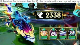 New Fastest Aurelion Sol Q! 2000 MS Commets!
