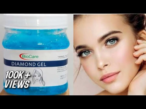 BioCare Diamond Gel For Glowing Skin|Review|Unboxing|Raihana's Site