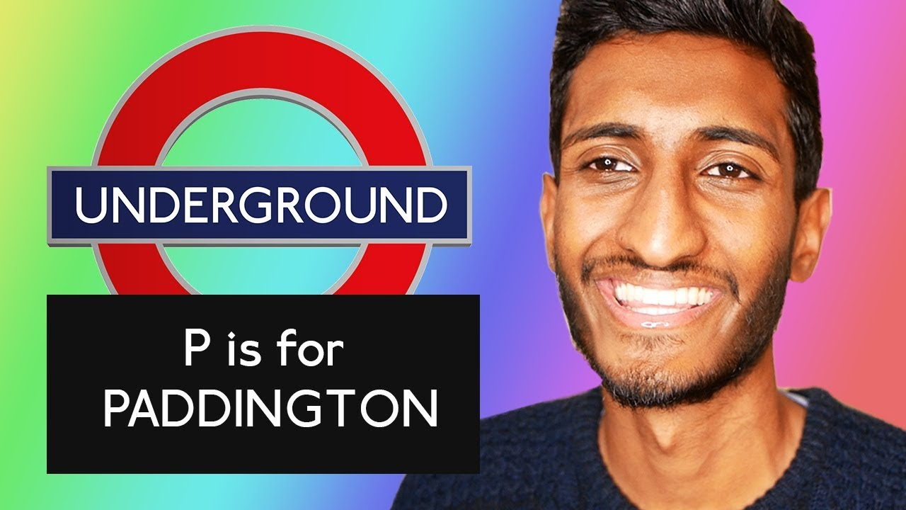 Learn The Alphabet With London Tube Stations British Accent