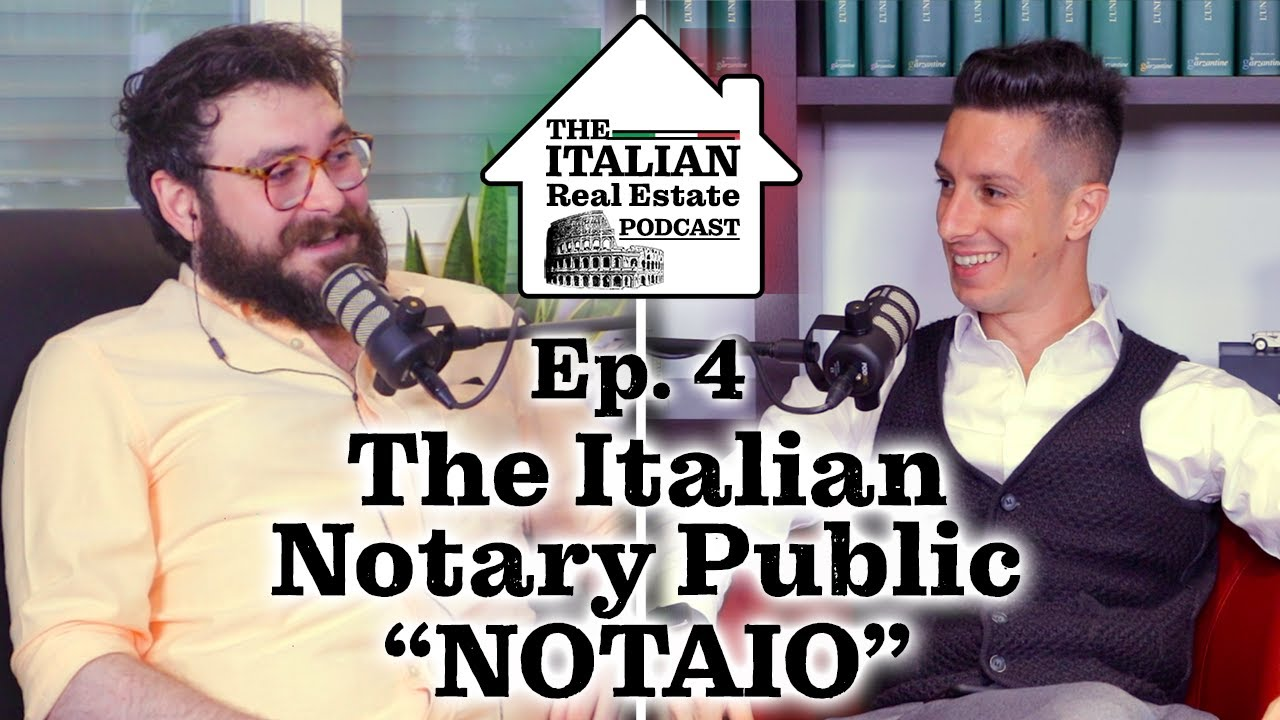 Italian Notary (Notaio) Overview