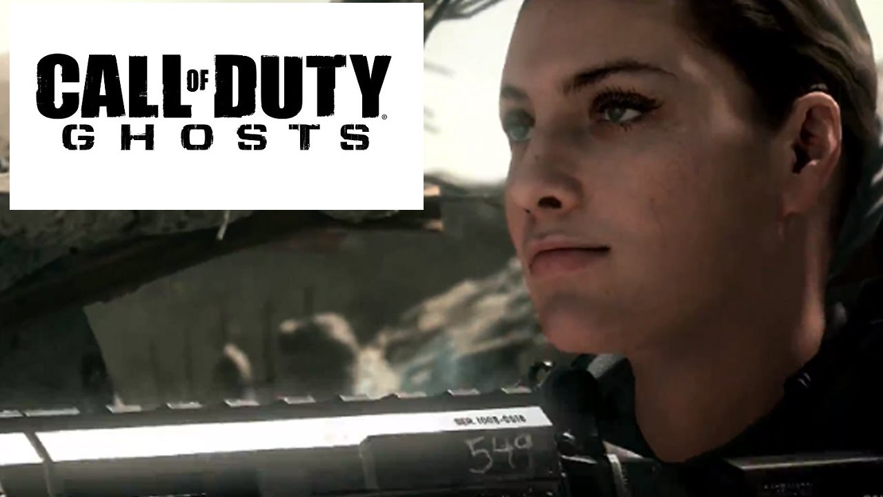 Call Of Duty Ghosts Multiplayer Girl Women Customizable Characters