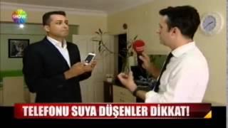SHOW TV ANA HABER - Cepkask Eğitim Müdürü Ali Karataş, Suya Düşen Cep Telefonuna İlk Müdahaleler