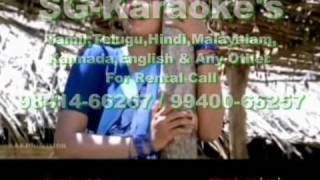 OORU SANAM-MELLA THIRANTHU KATHAVU-TAMIL VIDEO KARAOKE