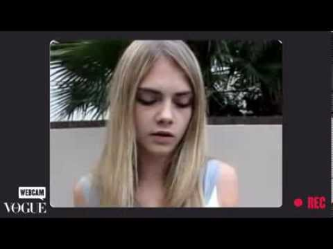 Cara Delevingne Interview for Vogue Italia - June 2011