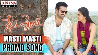 Masti Masti Promo Video Song II Nenu Sailaja Songs II Ram, Keerthy Suresh, Devi Sri prasad