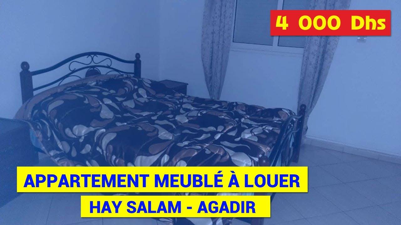 Appartement T3 meublé à louer longue durée à Hay Salam ...