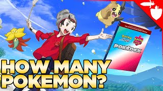 How Many Pokemon are in Pokemon Sword and Shield?