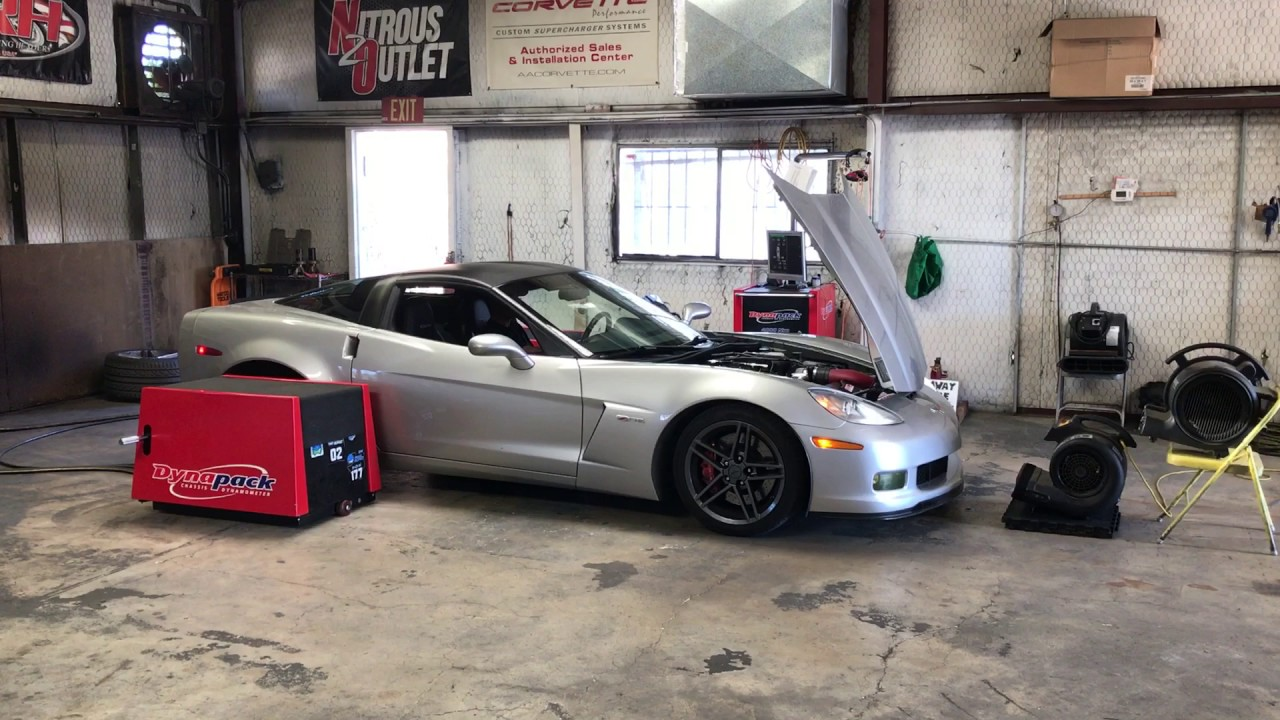 Dyno tune after MSD intake install