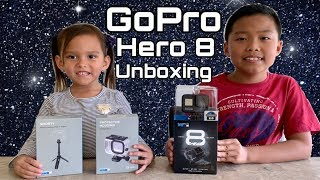 GoPro Hero 8 Black with Shorty and Protective Housing Unboxing #Gopro #GroPro8 #MarqueeandBella