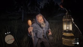 Old Blind Man Predicts Arthur's Future Red Dead Redemption 2