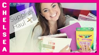 Back to School: SUPPLIES HAUL 2014! Thumbnail